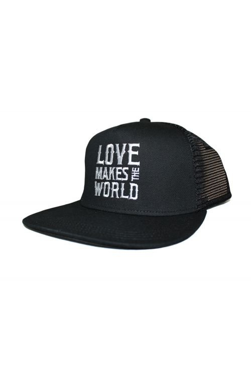 Love Make The World Black Cap by Andrew Farriss