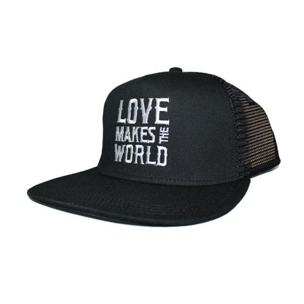 Love Make The World Black Cap